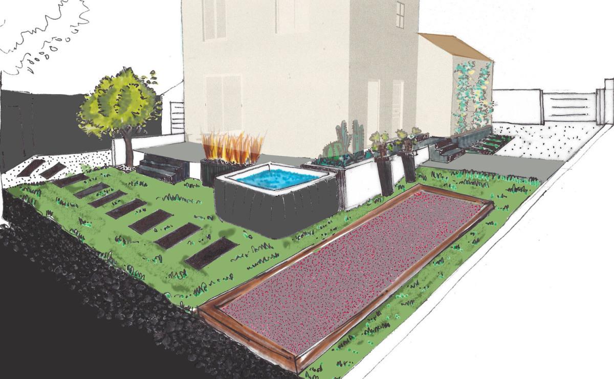 Aménagement terrasse et jardin par paysagiste DPLG sur ...