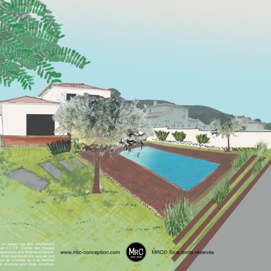 Architecte Paysagiste Amenagement Jardin Avec Piscine Marseille
